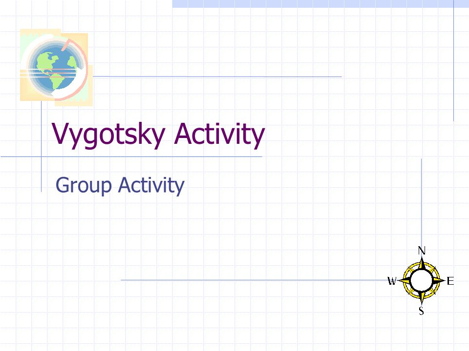Vygotsky Activity Group Activity