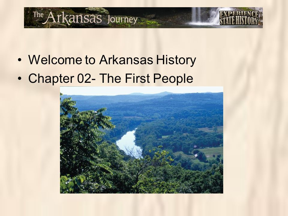 Welcome to Arkansas History