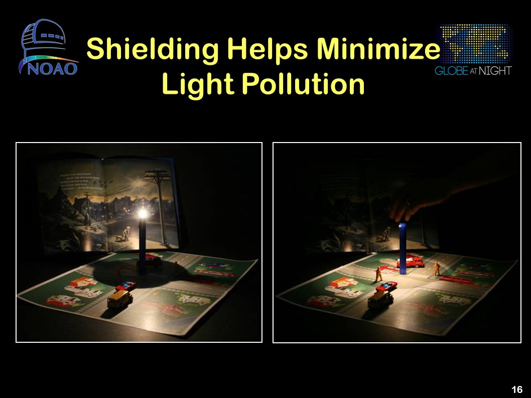 Shielding Helps Minimize Light Pollution