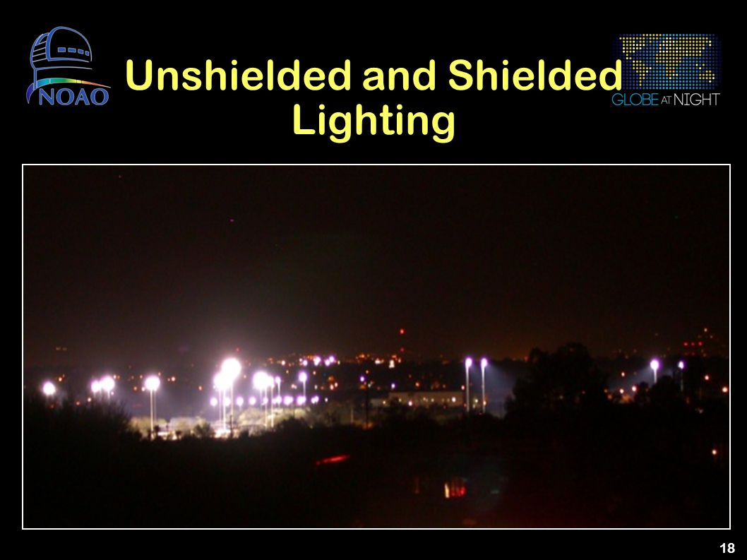 Unshielded and Shielded Lighting