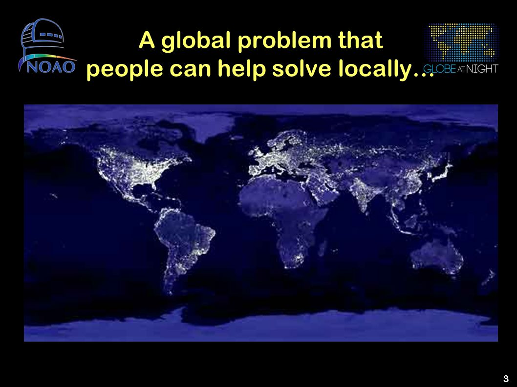 A global problem that people can help solve locally…