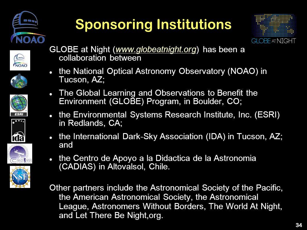 Sponsoring Institutions