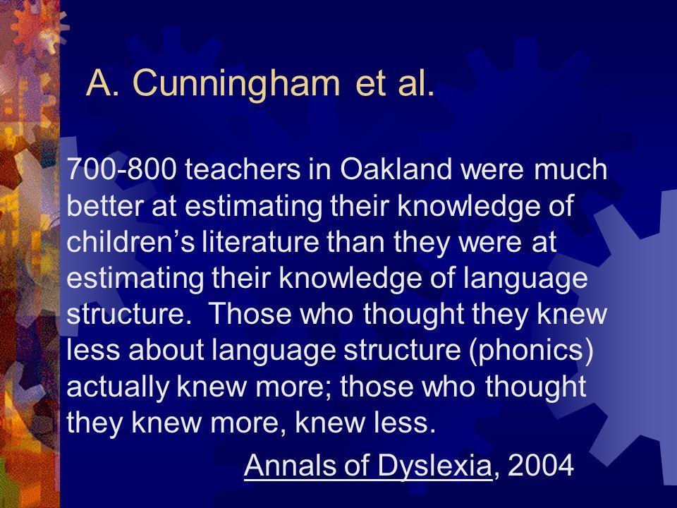 A. Cunningham et al.
