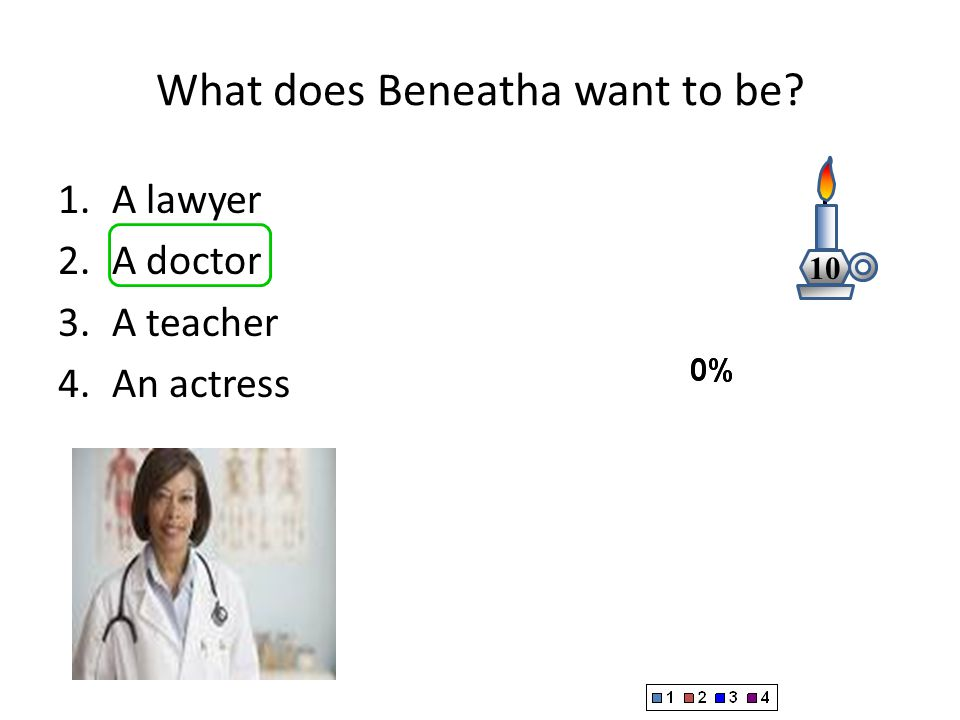 What does Beneatha want to be