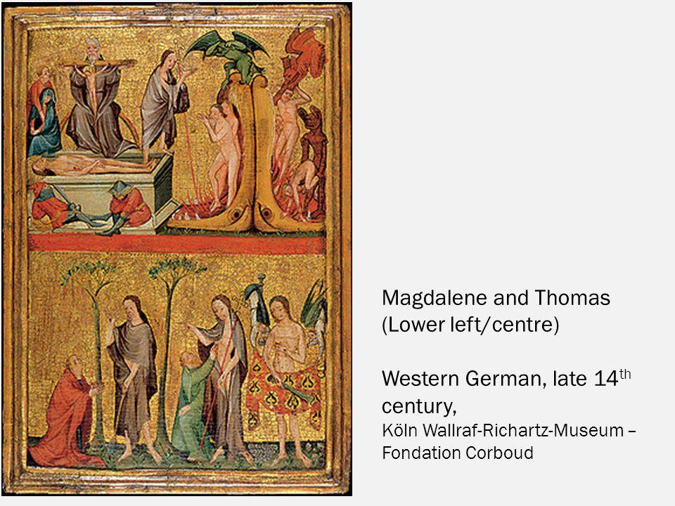 Western German, late 14th century,