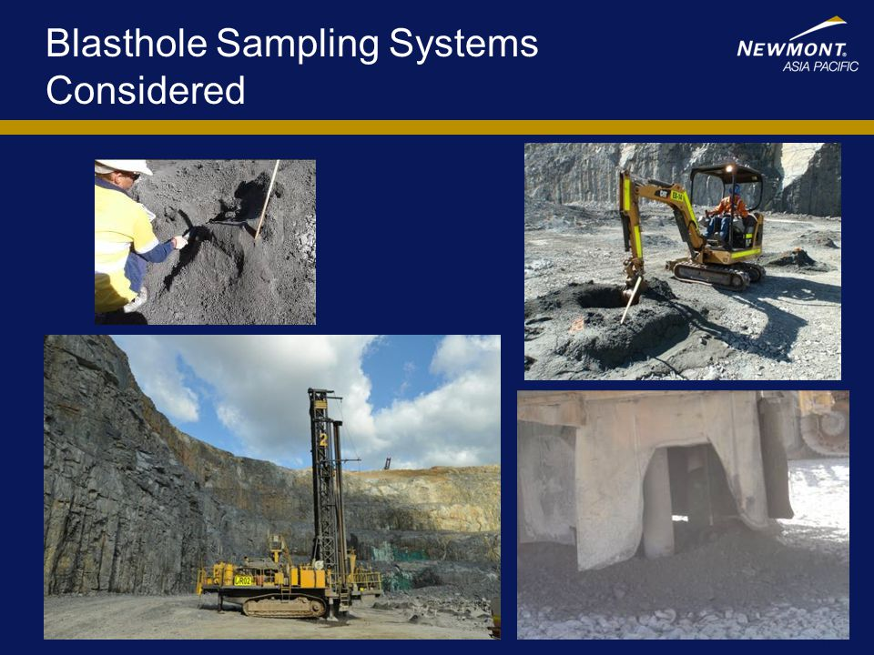 Blasthole Sampling Systems Considered