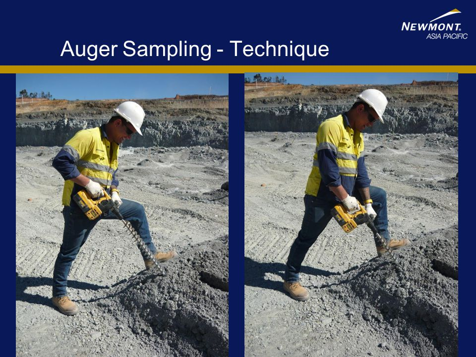Auger Sampling - Technique