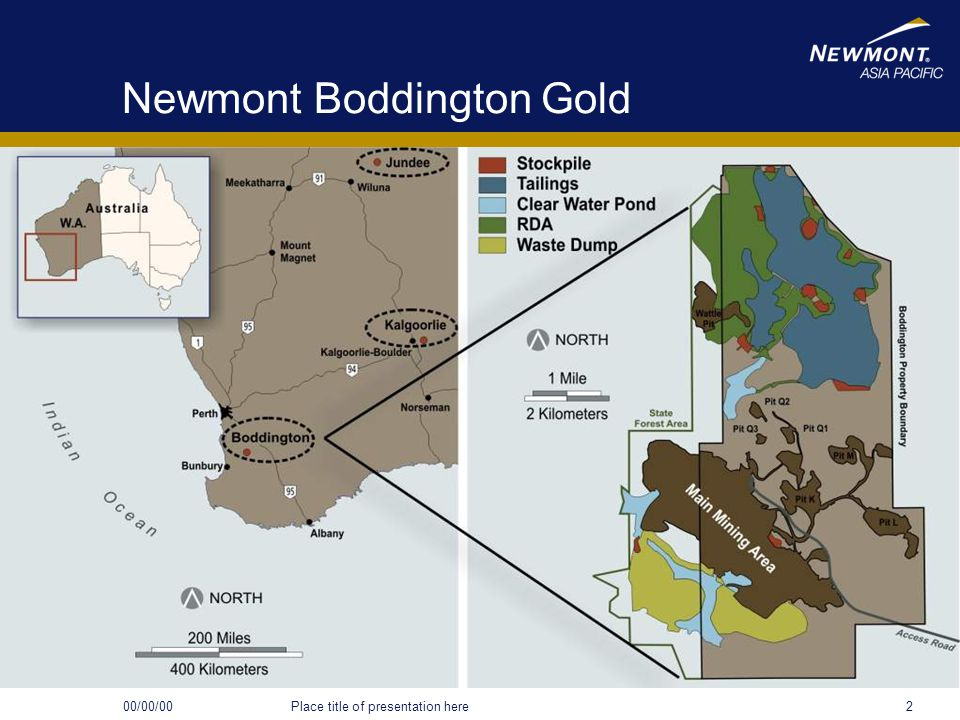Newmont Boddington Gold