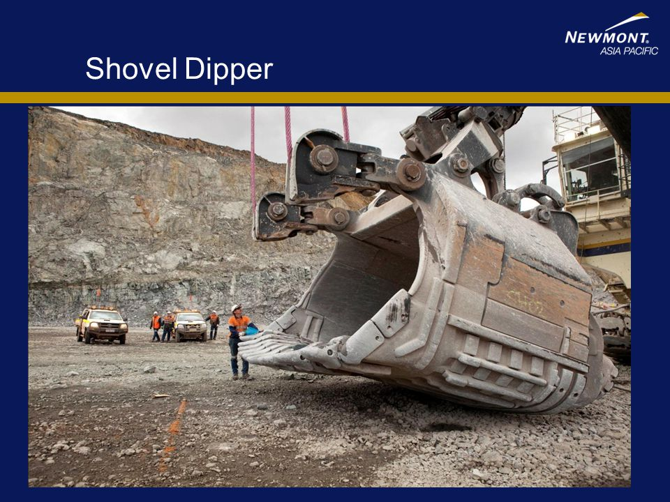 Shovel Dipper Indicator of Bucket Size – 3 pass load of a 795 truck
