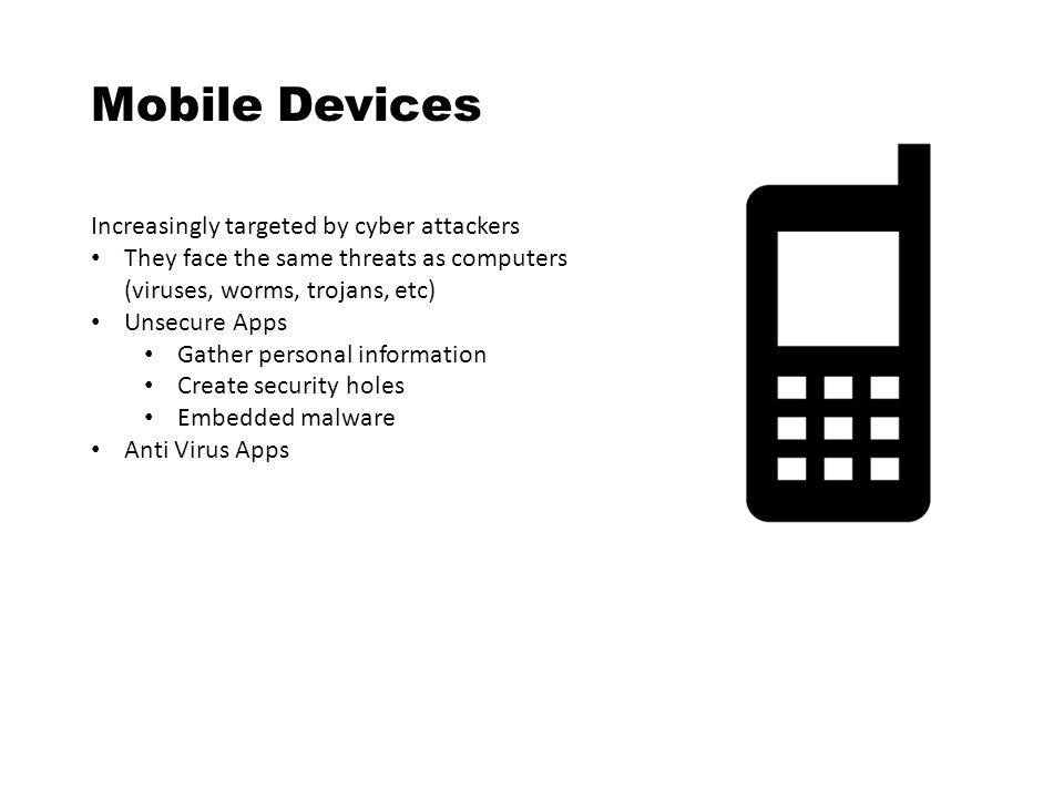 Mobile Devices Increasingly targeted by cyber attackers