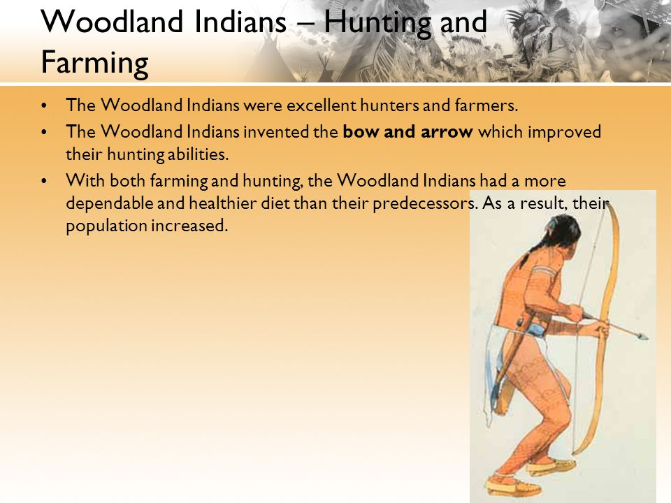 Woodland Indians – Hunting and Farming