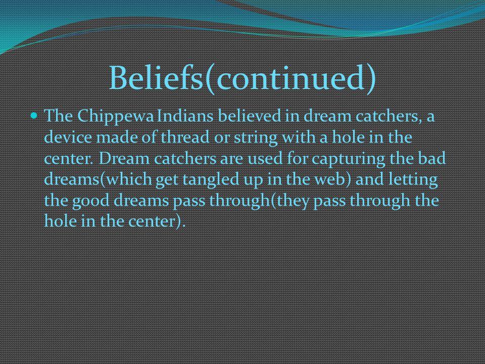 Beliefs(continued)