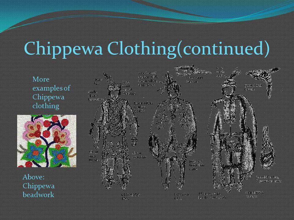Chippewa Clothing(continued)