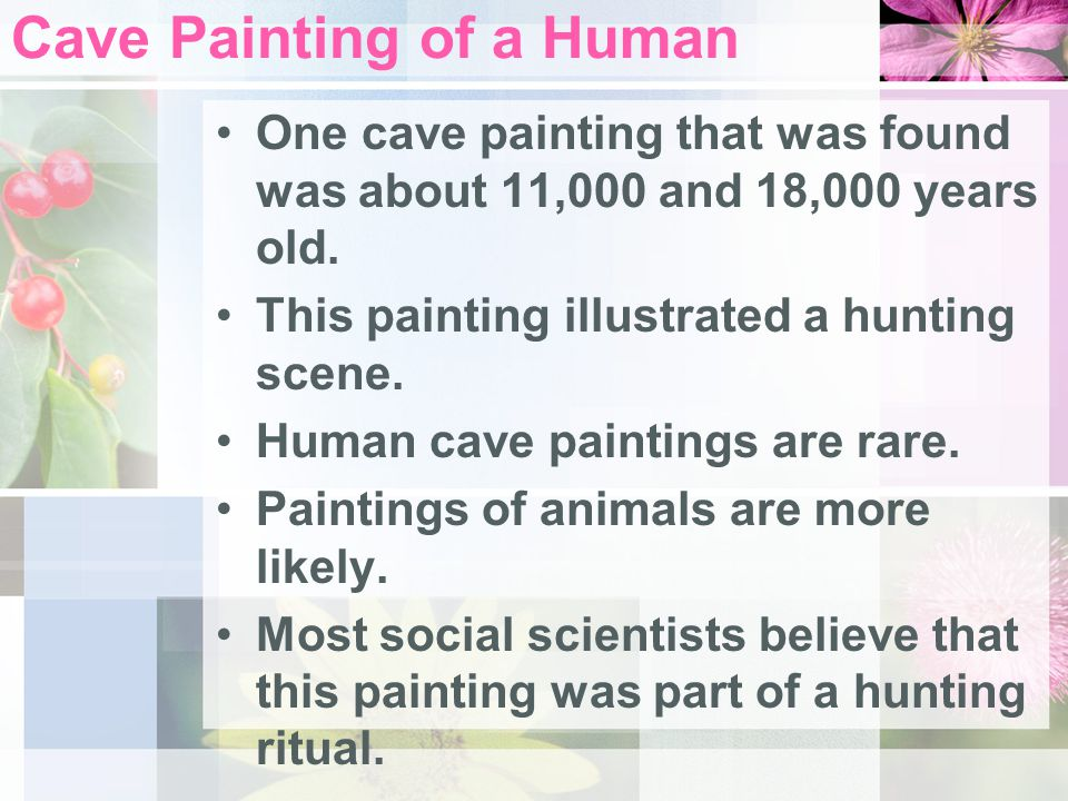 Cave Painting of a Human