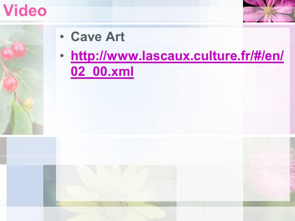 Video Cave Art http://www.lascaux.culture.fr/#/en/02_00.xml