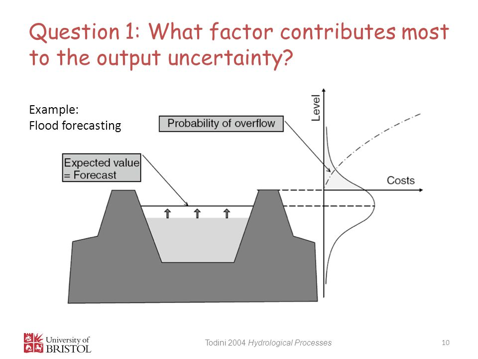 Question 1: What factor contributes most to the output uncertainty