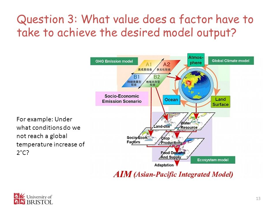 Question 3: What value does a factor have to take to achieve the desired model output