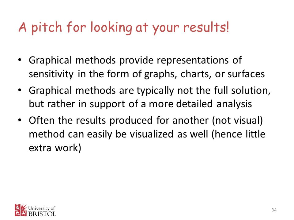A pitch for looking at your results!