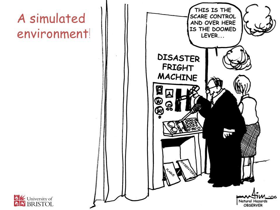 A simulated environment!
