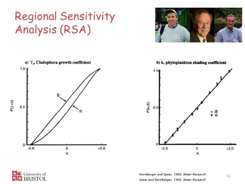 Regional Sensitivity Analysis (RSA)