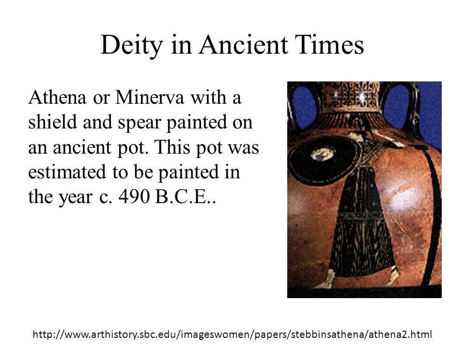 Deity in Ancient Times
