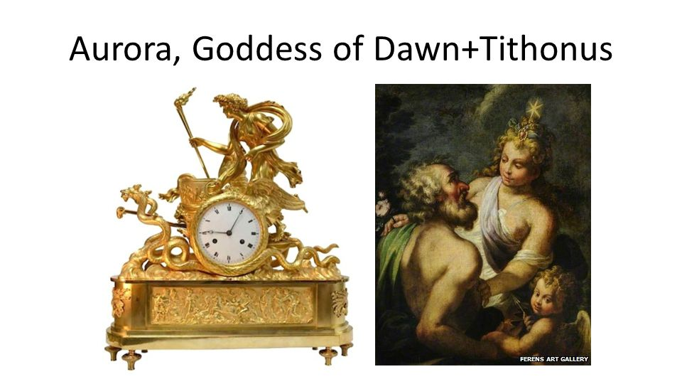 Aurora, Goddess of Dawn+Tithonus