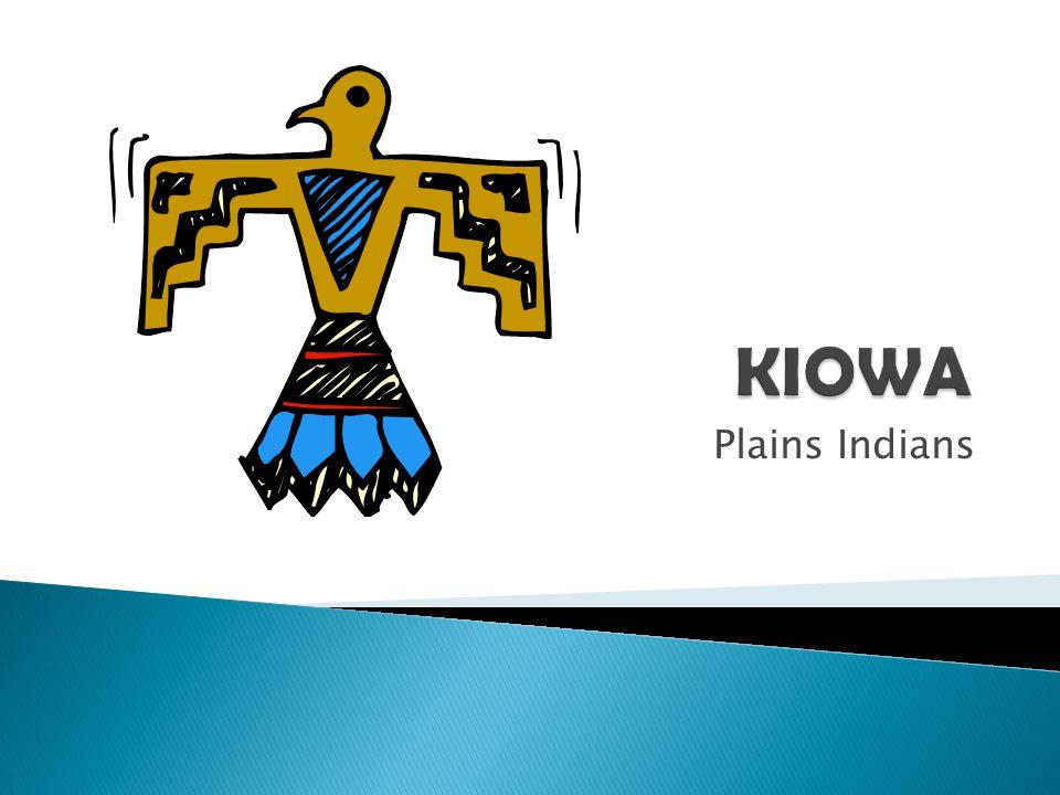 KIOWA Plains Indians