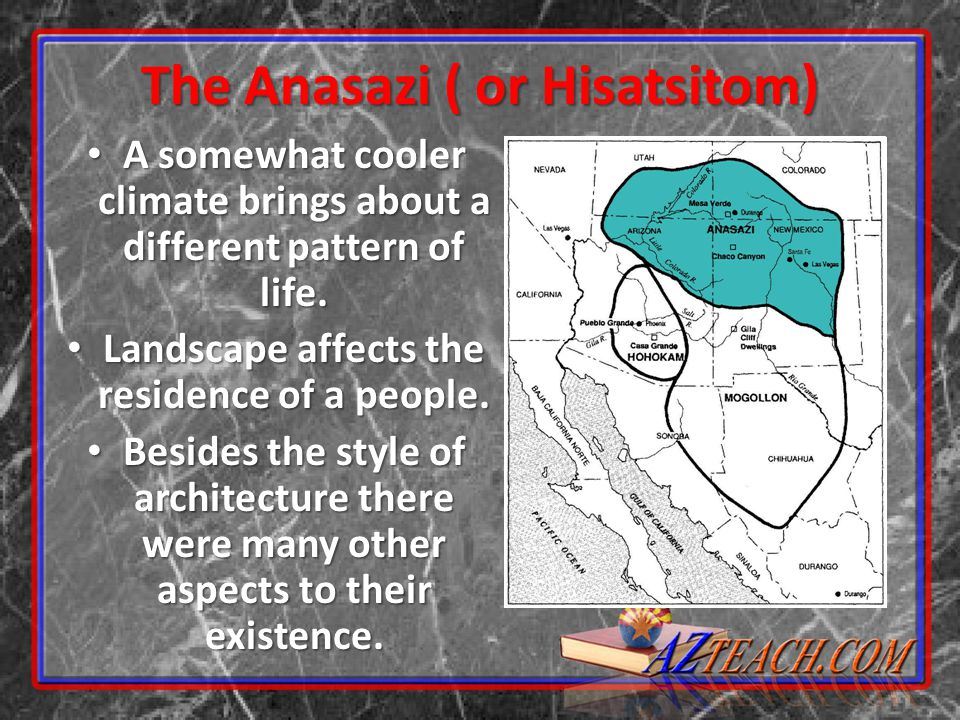 The Anasazi ( or Hisatsitom)