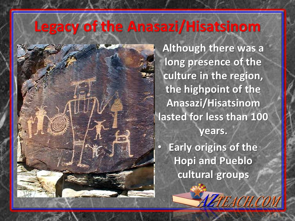 Legacy of the Anasazi/Hisatsinom