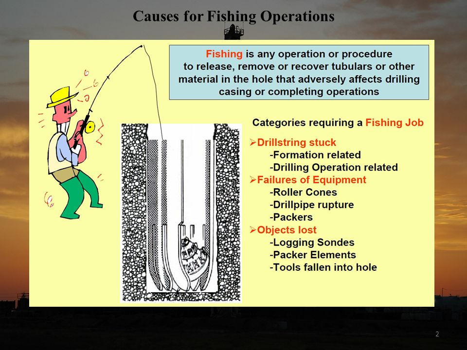 Causes for Fishing Operations