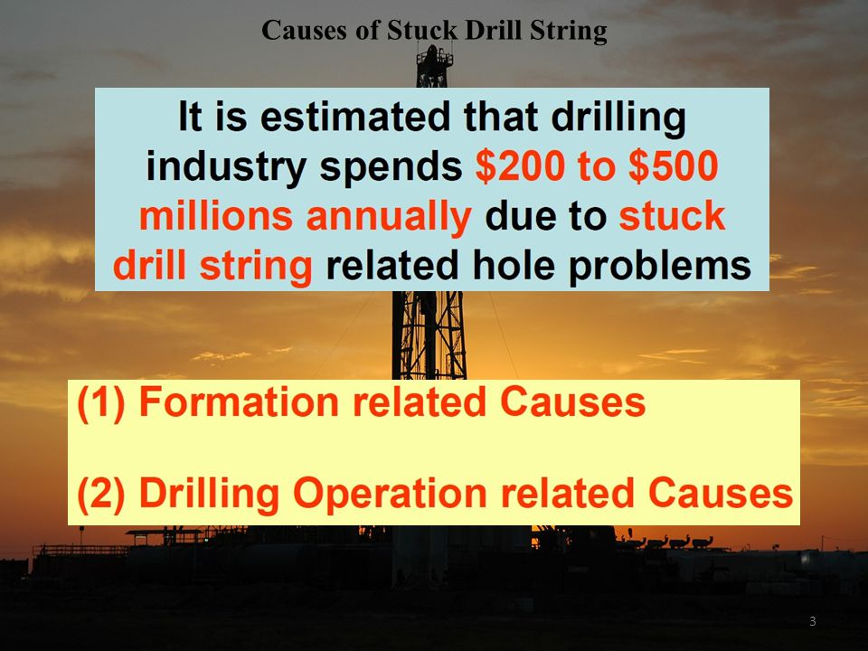 Causes of Stuck Drill String
