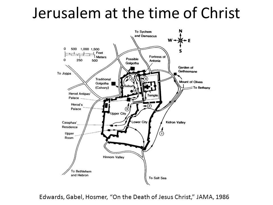 Jerusalem at the time of Christ
