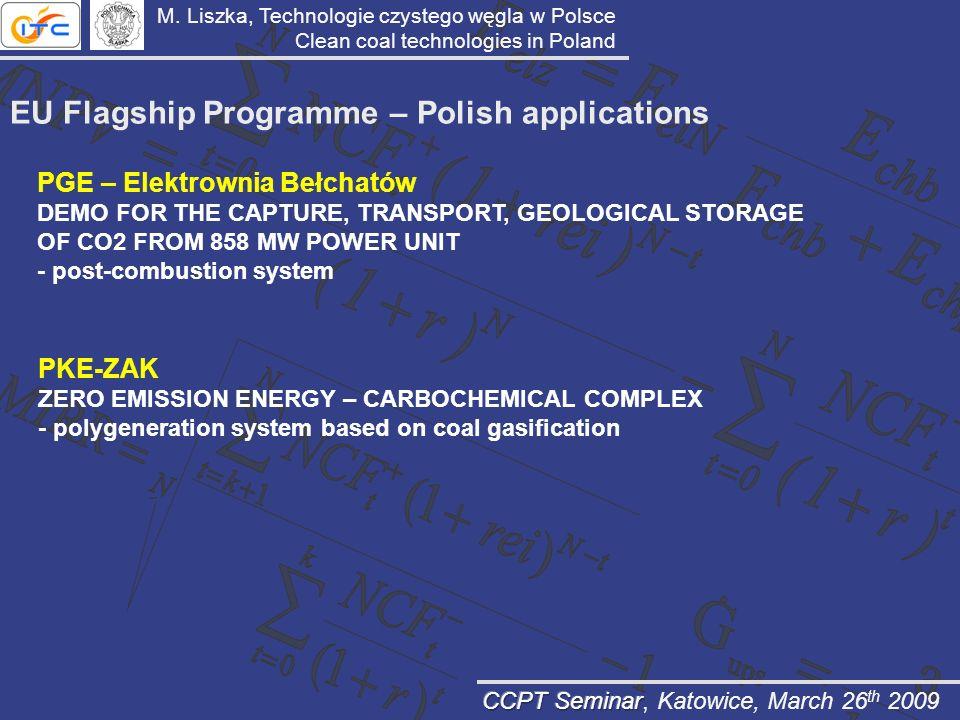 EU Flagship Programme – Polish applications