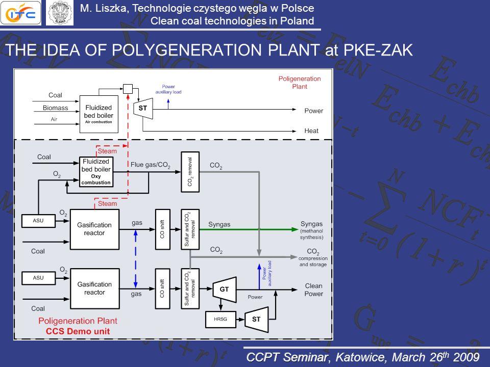 THE IDEA OF POLYGENERATION PLANT at PKE-ZAK