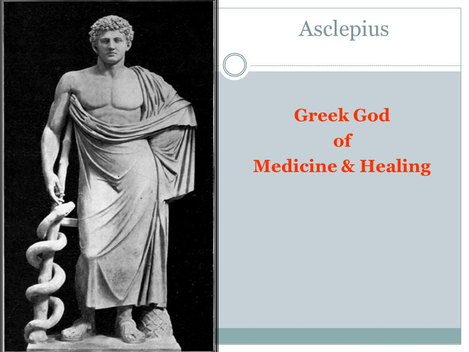 Asclepius Greek God of Medicine & Healing