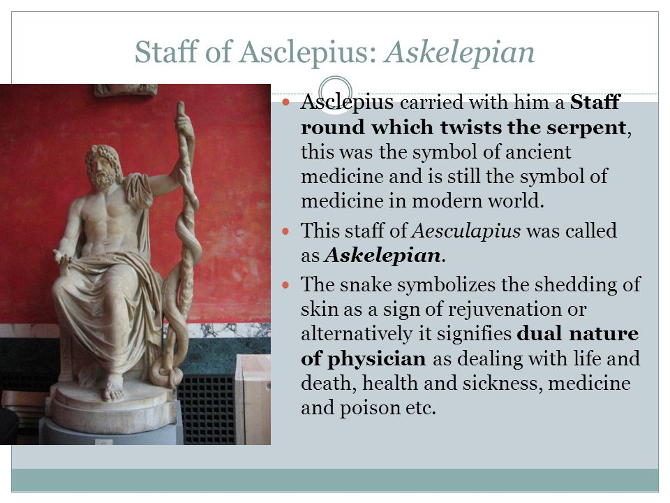 Staff of Asclepius: Askelepian
