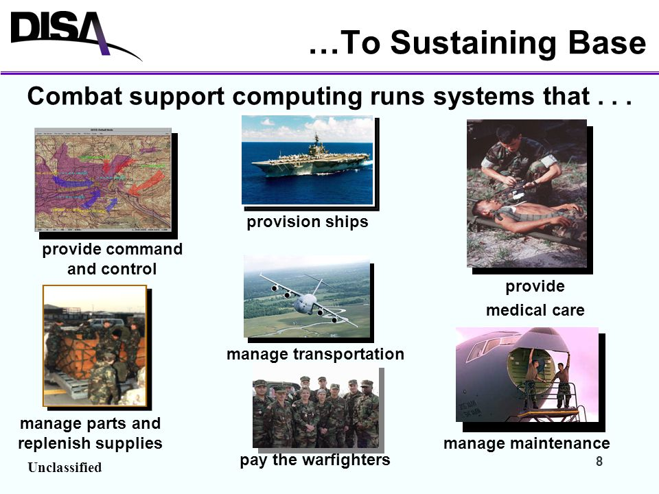 Combat support computing runs systems that . . .