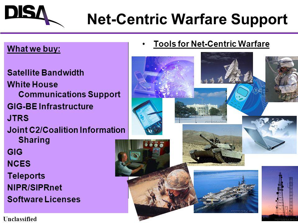 Net-Centric Warfare Support