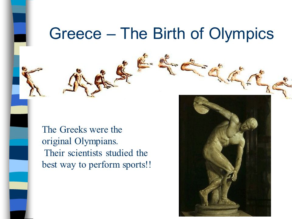 Greece – The Birth of Olympics