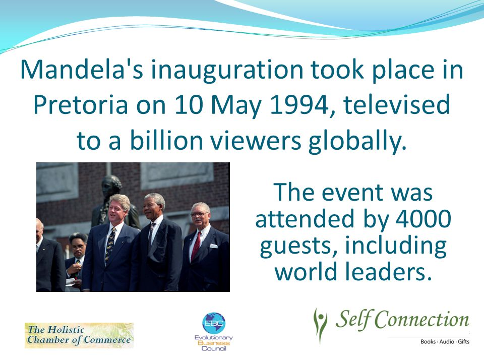 The event was attended by 4000 guests, including world leaders.