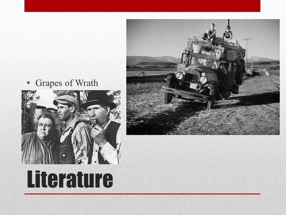 Grapes of Wrath Literature
