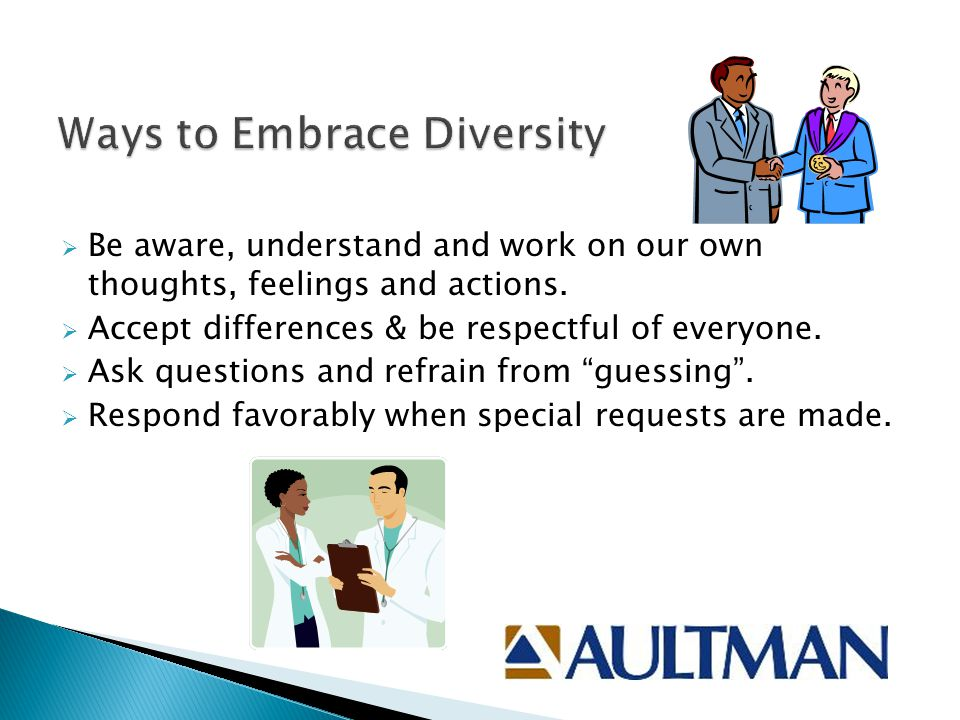 Ways to Embrace Diversity