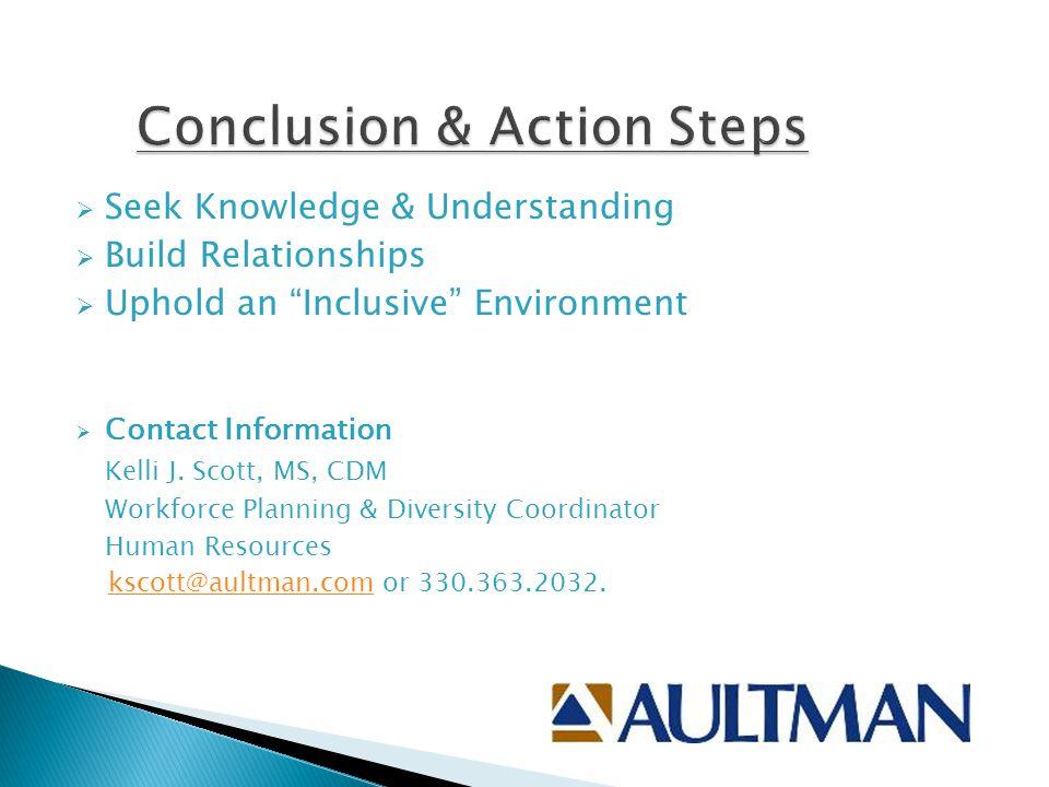 Conclusion & Action Steps
