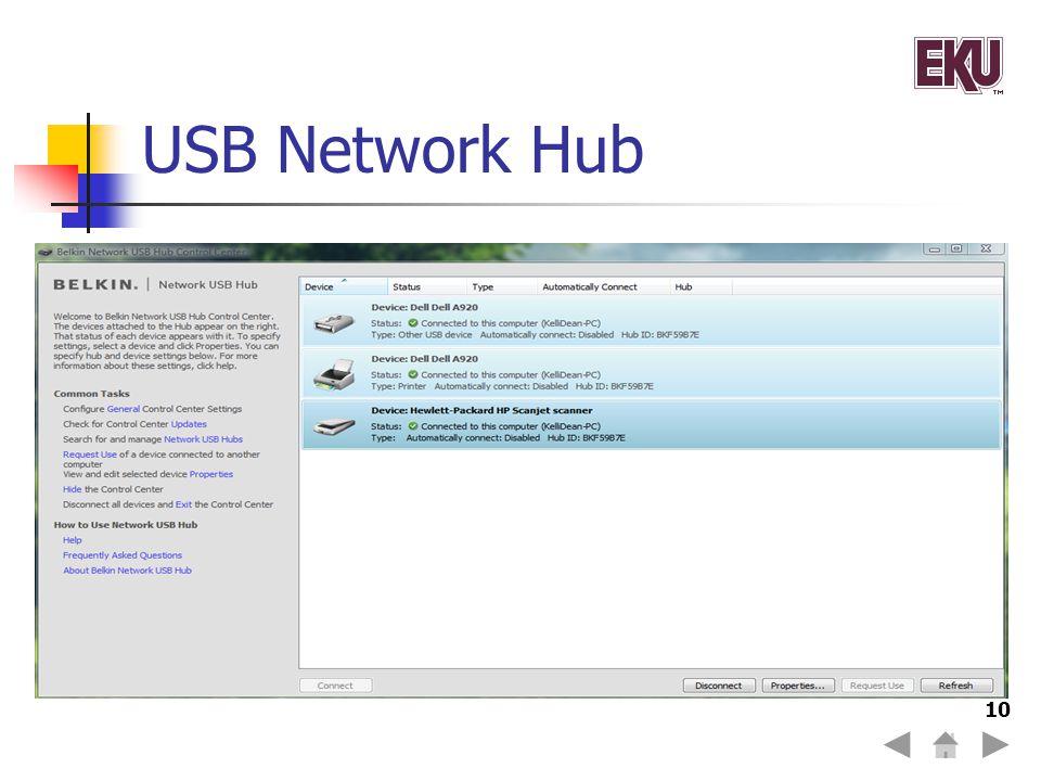 USB Network Hub