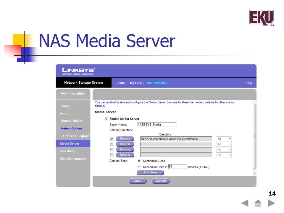 NAS Media Server