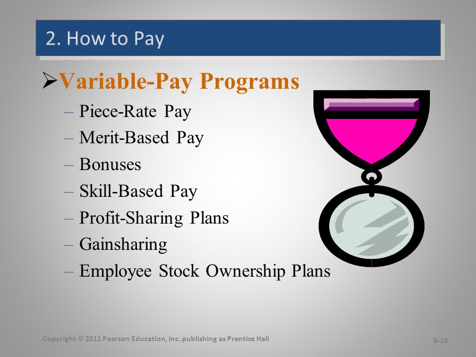 Types of Variable-Pay Programs