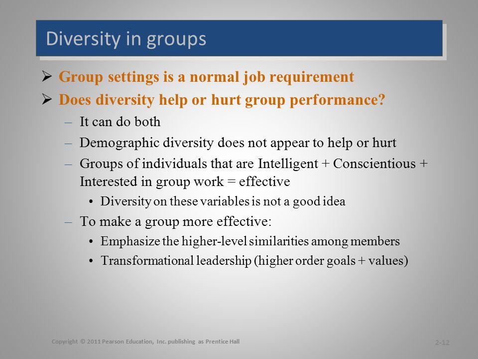 Effective diversity programs