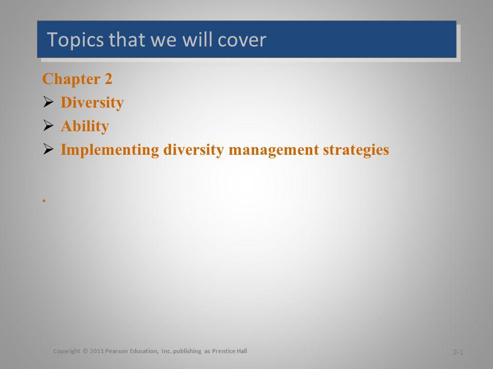 Diversity Management Diversity