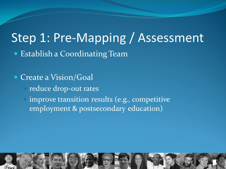 Step 1: Pre-Mapping / Assessment