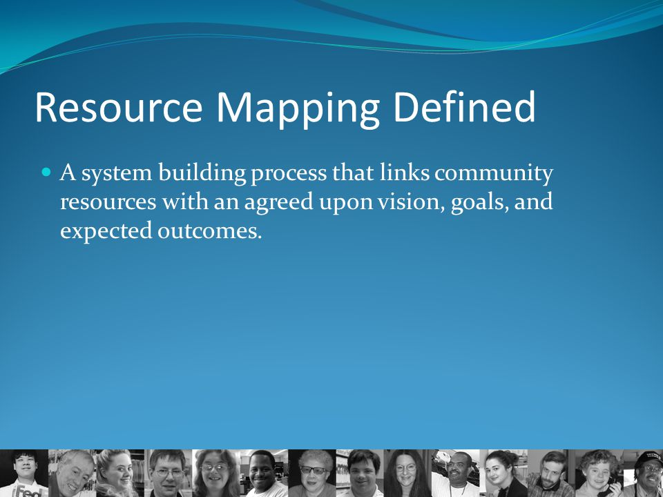 Resource Mapping Defined